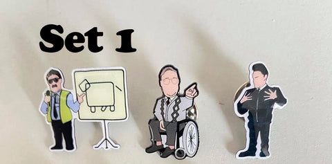 Phoenix nights limited edition Pin set
