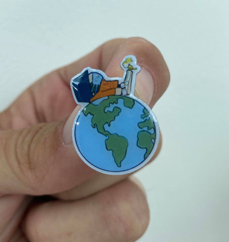 Fishermans friend on top of the world limited edition Pin