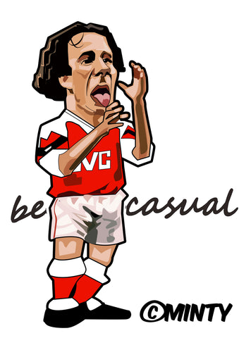 Be Casual Arsenal  print...
