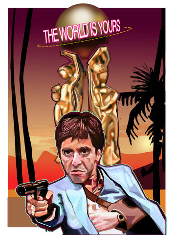 Scarface The World is Yous