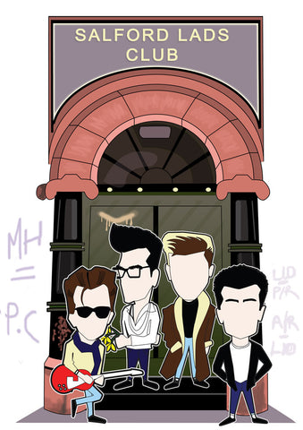 The Smiths Salford lads club  print....