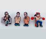 Snatch limited edition Pin set..