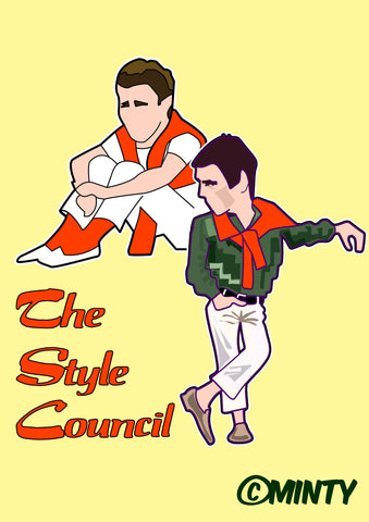 The Style Council  print
