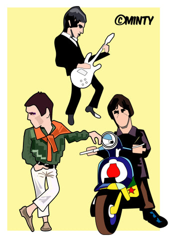 Weller through the years  print