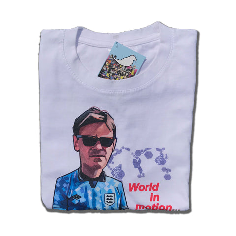 World in Motion white  T-shirt