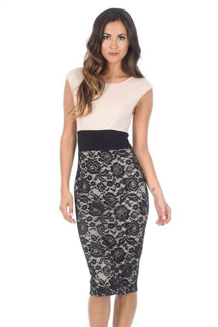 Animal Print 2 in 1 Structured Skirt Bardot Dress