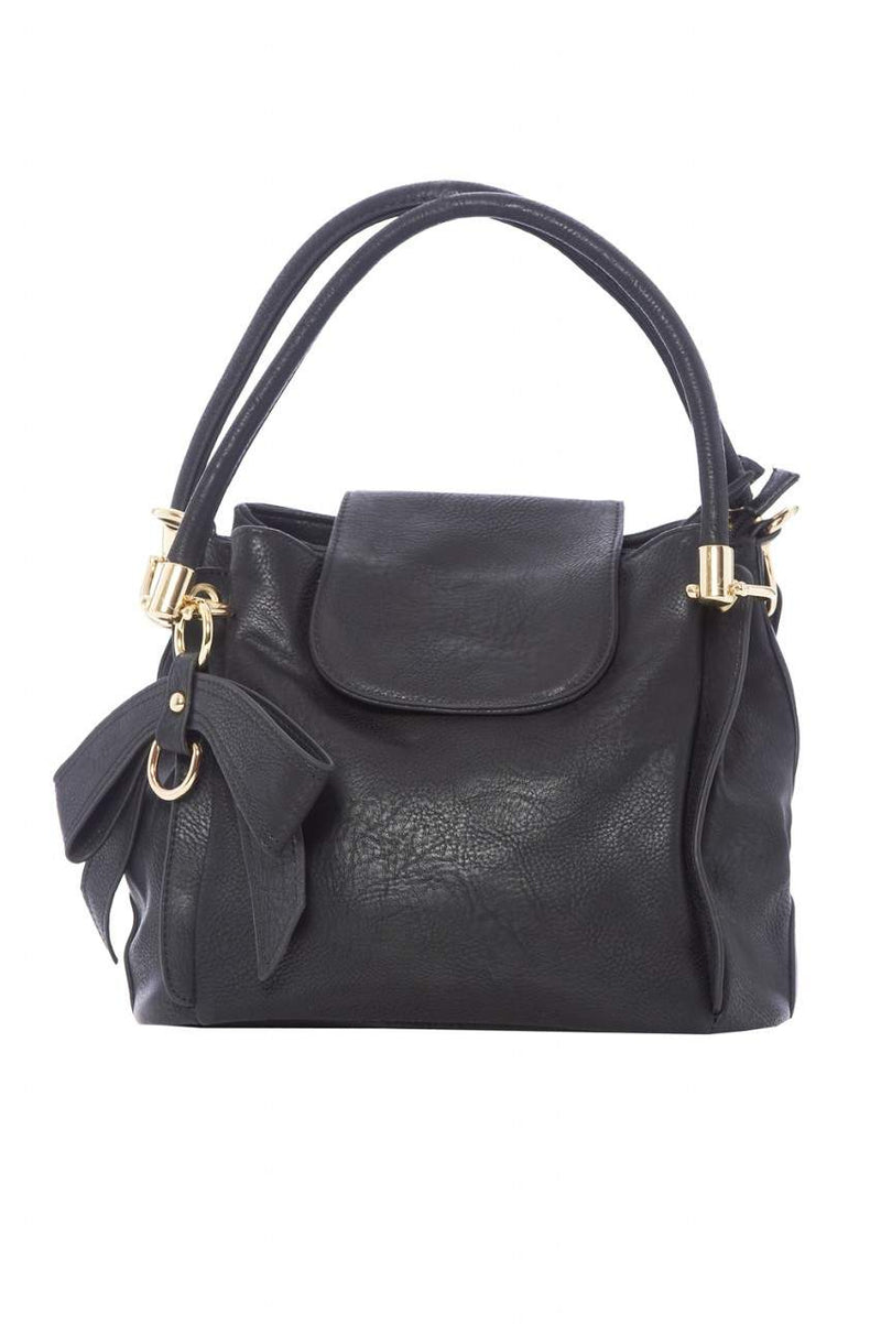 Faux Leather Handbag