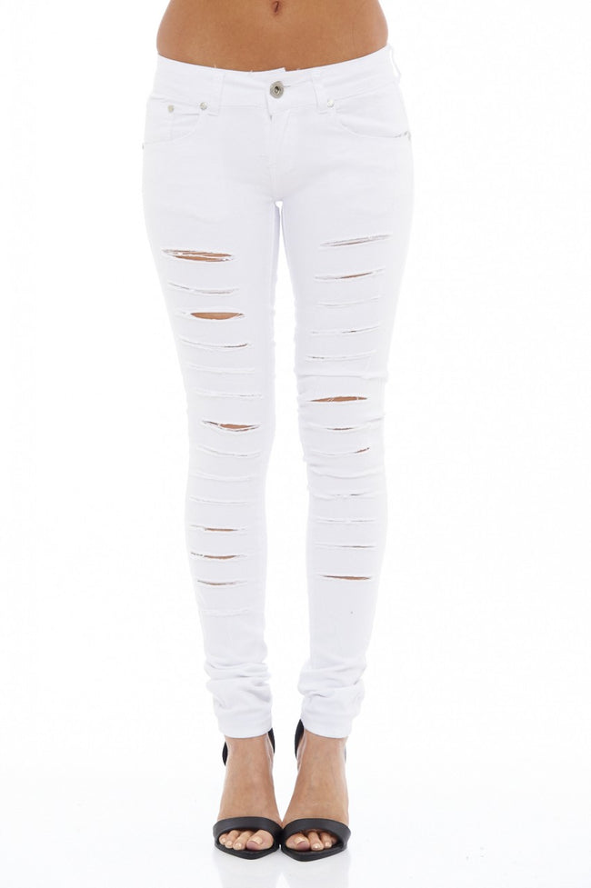 Multi Ripped Jeans