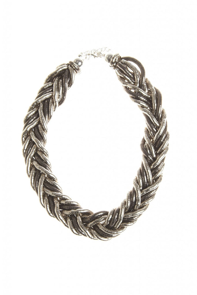 Detailed Twisted  Necklace