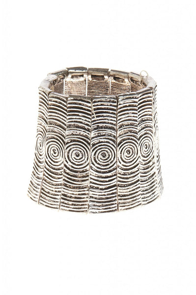 Swirl Cuff Statement Bracklet