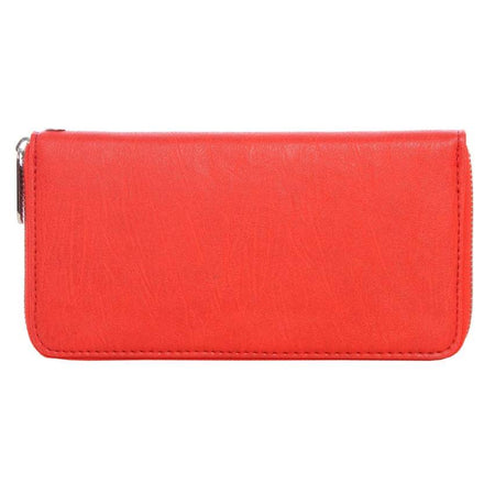 Red Zip Purse