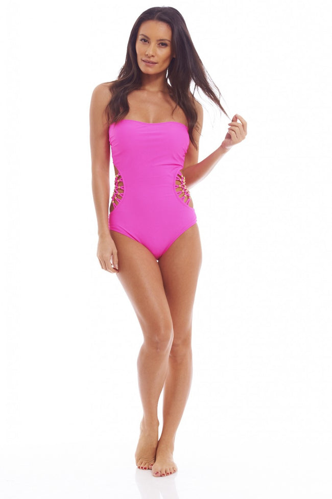 Cut  Out Side Detail Monokini