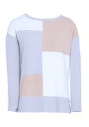 Beige Patchwork Jumper