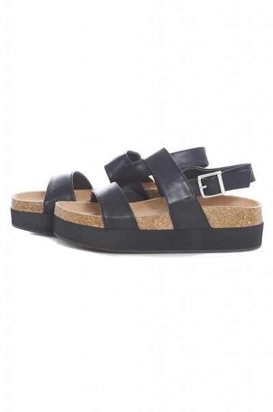 Chunky Double Strap Sandal