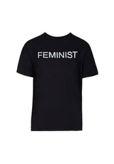 Black Feminist Slogan T-Shirt