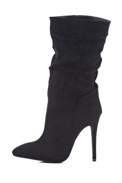 Ruched 3/4 Pointed Boot