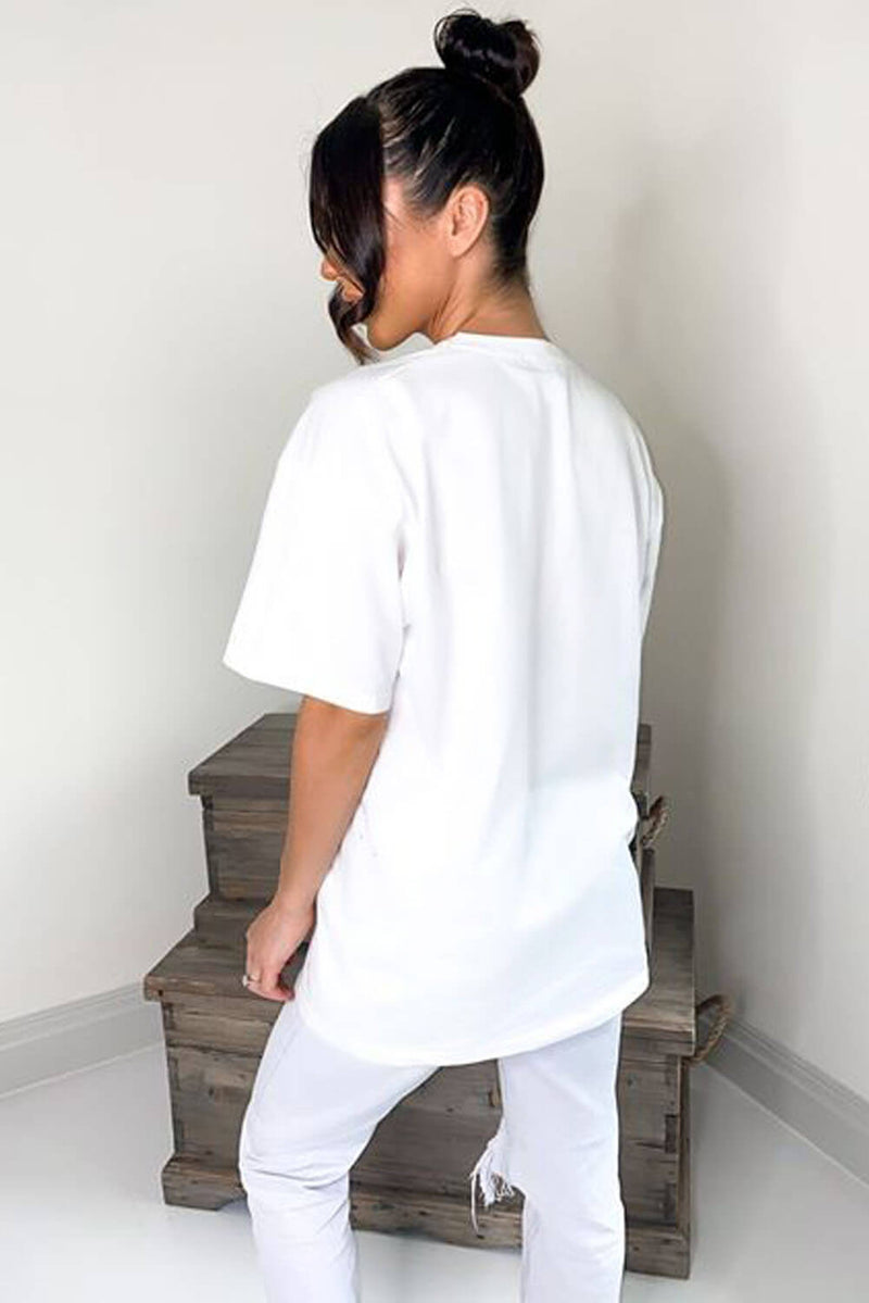 White Chic Like Coco T-Shirt