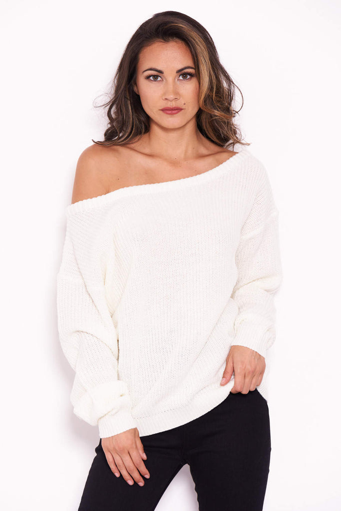 Cream Cosy Jumper
