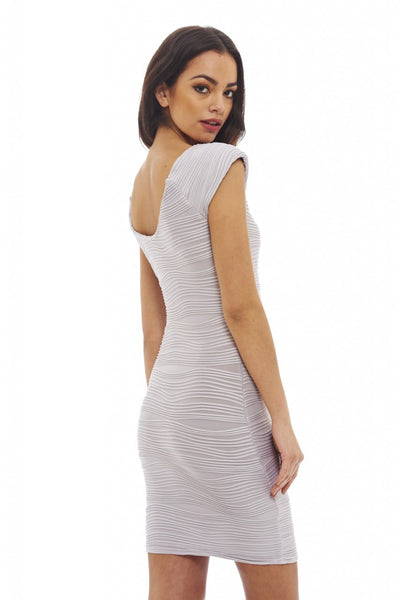 Ribbed Bodycon Mini Dress