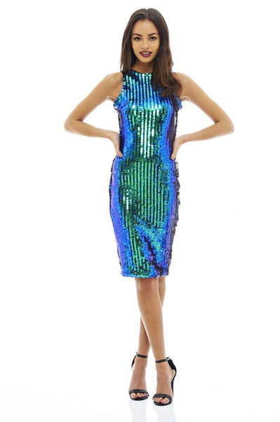 Sequin Covered Bodycon Dress