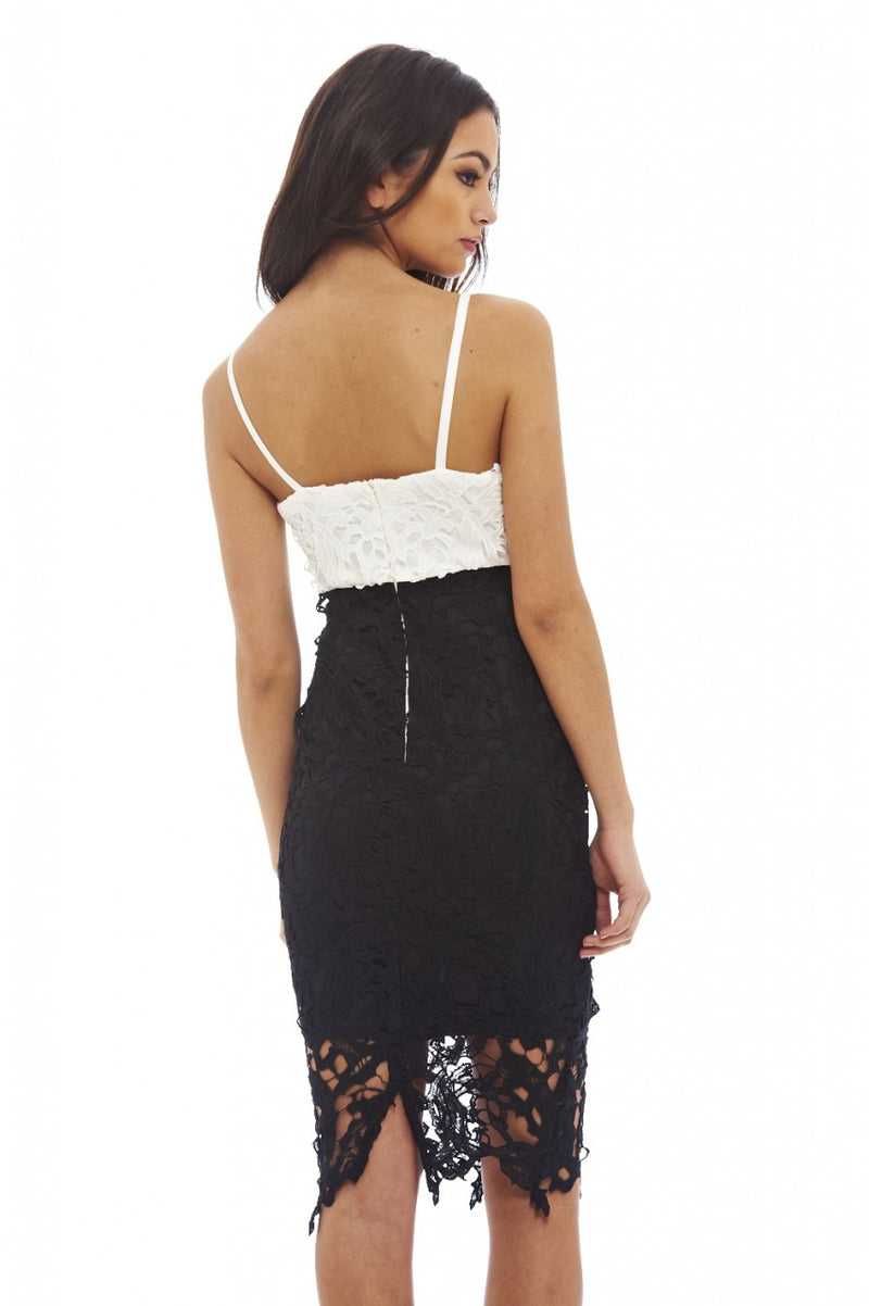 2 In 1 Crochet Lace Dress