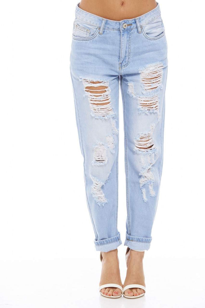 Boy fit Torn  Jeans