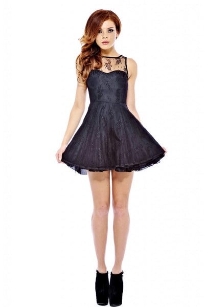 Skater Lace Kick Out Dress