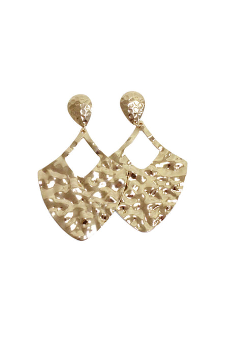 Silver Diamante Geometric Earrings