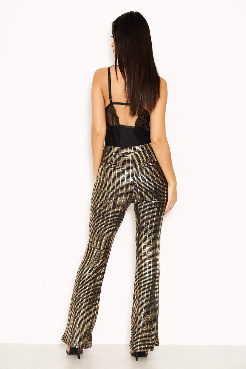 Gold Sparkle Trousers