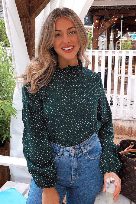 Silver Wide Sleeve Cropped Knit Jumper