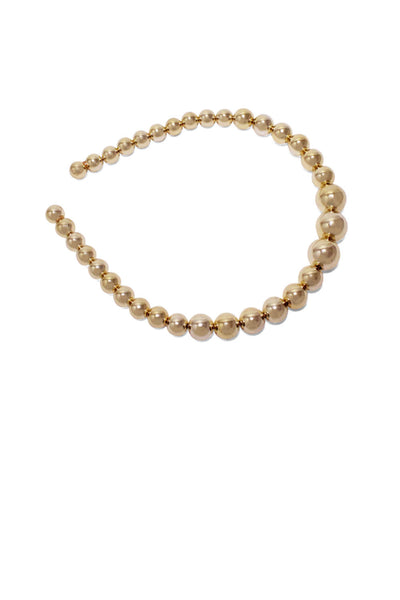 Gold Pearl Hairband