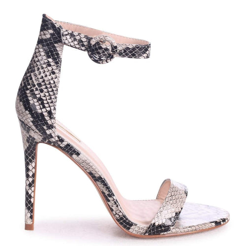 NENA - Natural Snake Barely There Heel