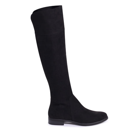 Flat Thigh High Boots