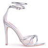MORGAN - Silver Strappy High Heel