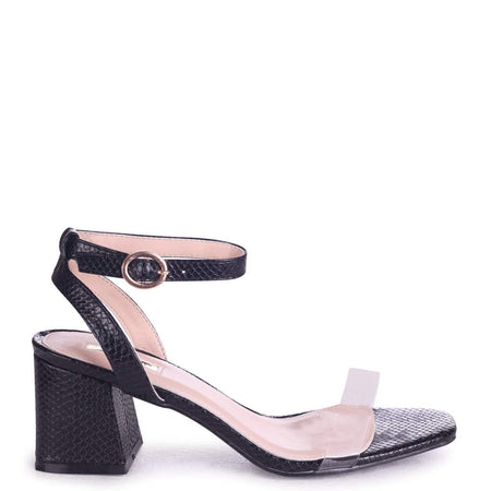 CHARLIE - White Nappa Stiletto Heel With Double Front Lace Straps