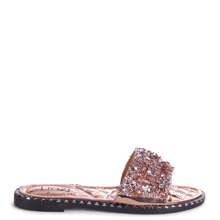 MINDY - Brown Croc Square Toe Cowboy Boot With Snake Back