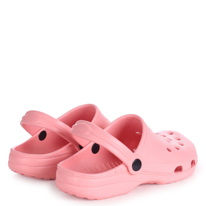 COBY - Pink Clog Style Lightweight Mule