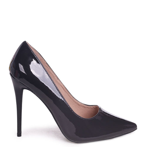 PHOENIX - Dark Grey Ombre Effect Stiletto Court Heel