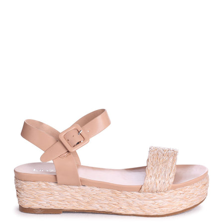 CHICAGO - Pink Croc Nappa Square Toe Barely There Heel
