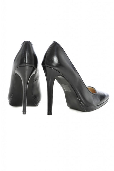 Plain  Court Pointy Heeled Shoe