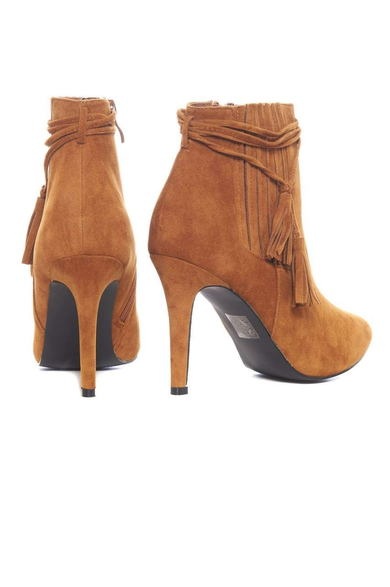 Tassel Detail  Ankle Boot
