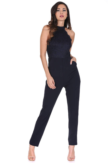Blush V Neck Jumpsuit
