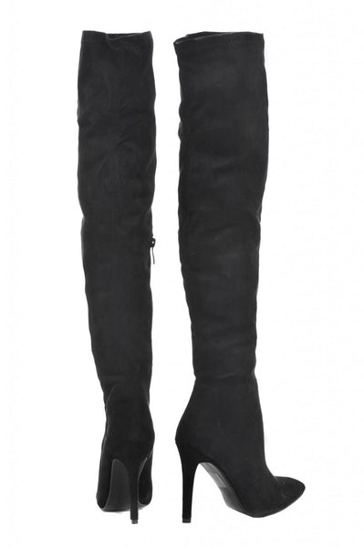 Over The Knee Pointed Boot