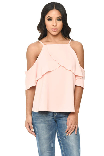 Pink Floaty Cami Top