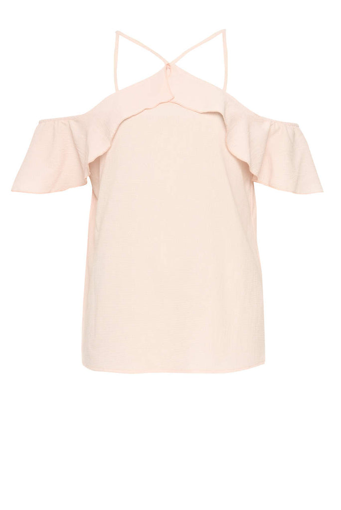 Pink Halterneck Floaty Top
