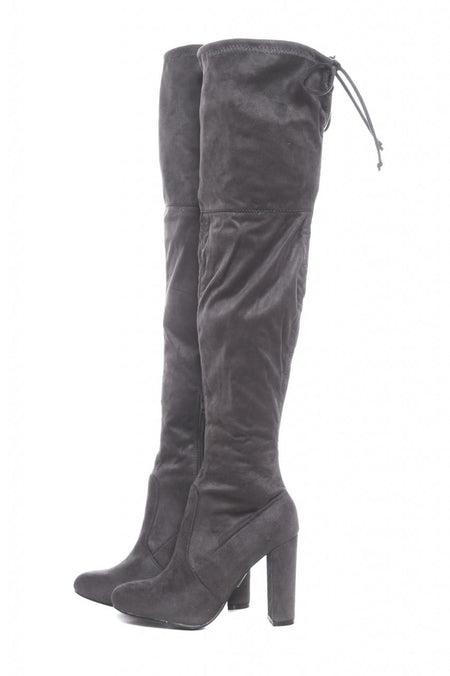 Side Tassel Heeled Boot