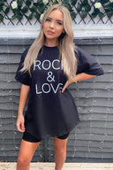 Black Rock and Love T-Shirt
