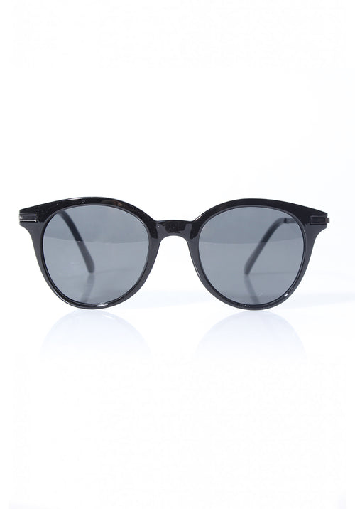 Black Rounded Sunglasses