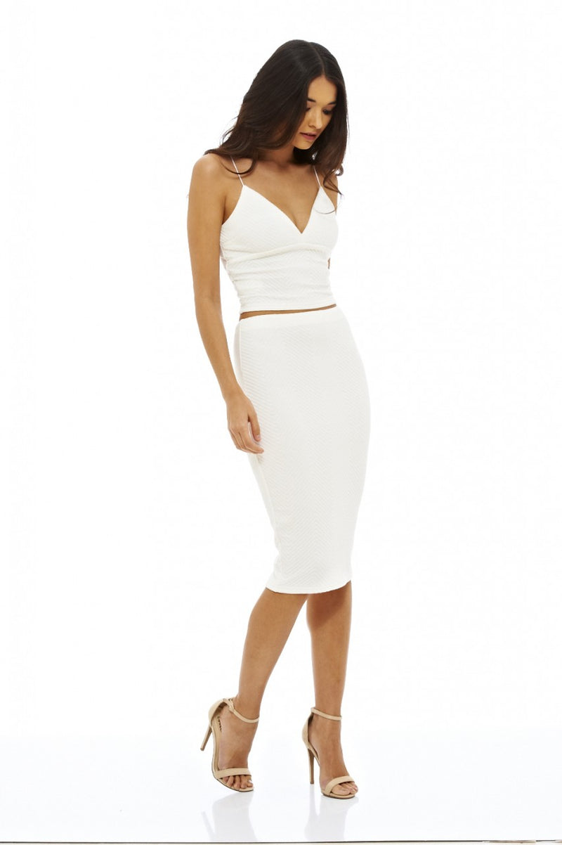 Strappy Plunge Front Co-Ord