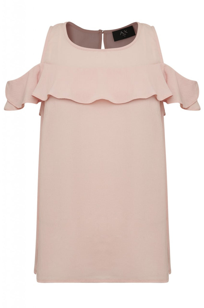 Blush Frill Detail Top